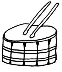 Trommel - Trommel, Orff-Instrument, trommeln, Instrument, spielen, Anlaut T, laut, Rhythmus, Schlagzeug, Rührtrommel, Marschtrommel, Schnarrtrommel, Snare, Snare drum