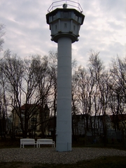 Grenzturm der DDR an der Ostsee - Grenzturm, Grenze, Ostsee, DDR, Republikflüchtlinge, Kühlungsborn, Geschichte, Flucht, Flüchtlinge, innerdeutsche Grenze