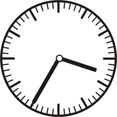Uhrzeit 3.35 15.35 - Uhr, fünf Minuten nach halb, Uhrzeit, Zeit, Zeitspanne, Zeitpunkt, Zeiger, Mechanik, Zeitskala, Zeitgeber, Analoguhr, Zifferblatt, Ziffernblatt, rechtsdrehend, Uhrzeigersinn, Minute, Stunde, Kreis, Winkel, Grad, Mathematik, Größen, messen, time, clock, ermitteln, Zeitraum, Dauer, Frist, Termin, Zeitabschnitt, thirty-five