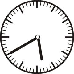 Uhrzeit 5.40 17.40 - Uhr, zehn Minuten nach halb, 20 Minuten vor, Uhrzeit, Zeit, Zeitspanne, Zeitpunkt, Zeiger, Mechanik, Zeitskala, Zeitgeber, Analoguhr, Zifferblatt, Ziffernblatt, rechtsdrehend, Uhrzeigersinn, Minute, Stunde, Kreis, Winkel, Grad, Mathematik, Größen, messen, time, clock, ermitteln, Zeitraum, Dauer, Frist, Termin, Zeitabschnitt