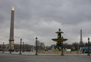 Place de la Concorde - Paris, Place de la Concorde, Obelisk, Obelisk von Luxor, Sehenswürdigkeit