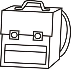 Schultasche - Schultasche, Tornister, Tasche, Anlaut Sch