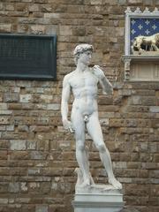 David von Michelangelo - David, Michelangelo, Florenz, Italien, Toskana, Bildhauerei, Marmor, Skulptur, Kunstgeschichte, Hochrenaissance