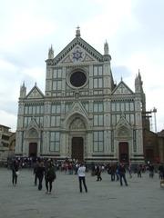 Santa Croce (Florenz) - Florenz, Toskana, Italien, Kirche, Architektur, Franz von Assisi, Michelangelo, Machiavelli, Gioacchino Rossini, Guglielmo Marconi, Galileo Galilei, Giotto, Gotik