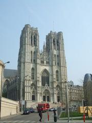 Kathedrale St. Michael - Brüssel, Kathedrale, Gotik, Kirche, Bruxelles, Belgien, Architektur, Kathedrale, Hauptkirche