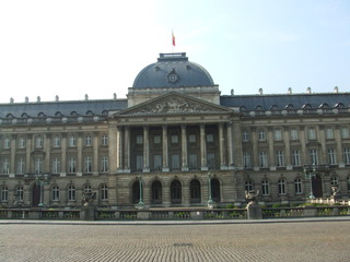 Königspalast in Brüssel - Königspalast, Brüssel, Belgien, König, Königtum, Palast, Architektur