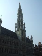 Hôtel de Ville bzw. Stadhuis - Brüssel, Rathaus Grand-Place, Architektur, Belgien, Jacob van Tienen, Gotik