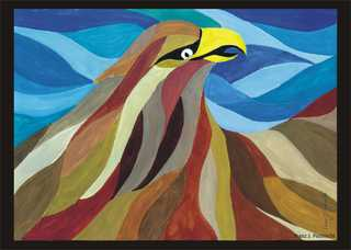 Adler - Adler, Greifvogel, Kunst, Farben mischen