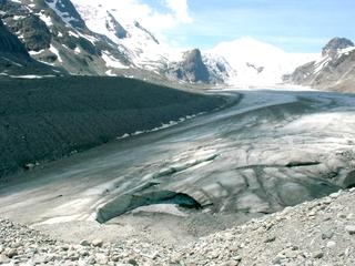Gletscher #1 - Winter, Alpen, Gletscher, Pasterze, Gebirge, Berg, Großglockner