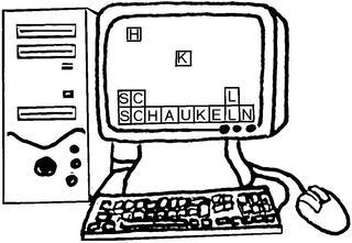 Computer - Computer, PC, Anlaut C, Informatik, Tastatur