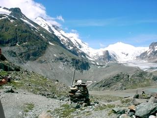 Gletscher #2 - Winter, Alpen, Gletscher, Wandern, Gebirge, Berg, Steinpyramide, Großglockner