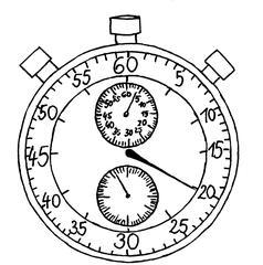 Stoppuhr - Uhr, Stoppuhr, Zeit, Anlaut St, Minuten, Sekunden, hundertstel, zehntel