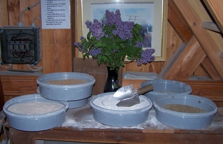 Getreide und Mehl - Getreide, Mehl, mahlen, Mühle