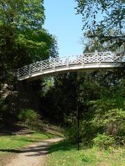Brücke - Park, Brücke, Schreibanlass, Weg