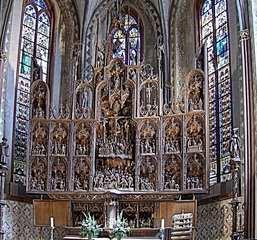 Brüggemann Altar - Bordesholmer Altar im Dom zu Schleswig - Altar, Kirche, Dom, Holz, Figuren, Bibel, Christus, Passion, Flügel, Kreuz, Jesus, Spätgotik, Renaissance