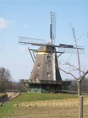 Windmühle - Windmühle, Windkraft, Luft, Bauwerk, Mühle, mahlen