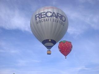 Heißluftballone in der Luft - Heißluftballon, Heißluftballone, Luft, Luftfahrzeuge, Gas, Himmel, Auftrieb, fliegen