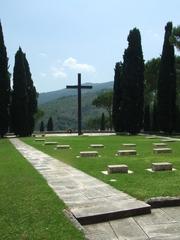 Deutscher Soldatenfriedhof - Zeiter Weltkrieg, Friedhof, Soldaten, Monte Cassino, Montecassino, Italien, Lazio, Gedenkstätte