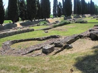 Aquileia - Porto fluviale #2 - Lagune, Hafen, Italien, Porto, Römer, Ruinen, Relikt, Ausgrabung, Aquileia
