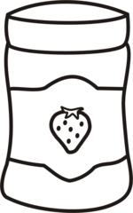 Marmelade - Marmelade, Konfitüre, Erdbeeren, Erdbeere, Erdbeermarmelade, einkochen, Anlaut M, Anlaut K, Obst