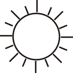 Sonne - Sonne, Himmel, Wetter, Sommer, heiß, Anlaut S, Wörter mit Doppelkonsonanten