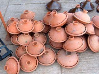 Keramik - Tajine  - Keramik, Marokko, Tajine, Kochtopf, Schmorgericht, kochen, Ton, Gefäß