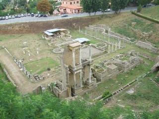 Römisches Theater - Toskana, Rom, Volterra, Theater, römisch, Antike, Ausgrabungen, Ruinen, Italien