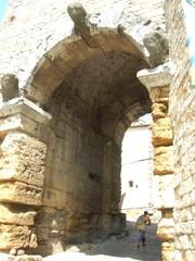 Arco Etrusco - Toskana, Volterra, Antike, Ausgrabungen, Ruinen, Italien, Etrusker, Tor, Stadttor