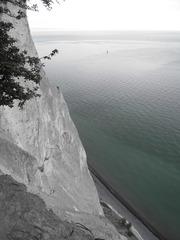 Möns Klint 1 - Steilküste, Kreidefelsen, Eiszeit, Fossilien, Dänemark, Insel Mön
