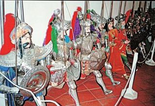 Marionetten - Marionetten, Puppen Figuren, Theater, Volkskunst, Gliederpuppe, Marionettentheater, Führung