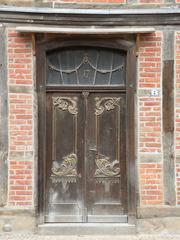Alte Tür - Haustür, Tür, Denkmal, alt, geschützt, Geschichte, Menschen, Leben, wohnen