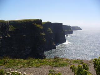 Cliffs of Moher - Steilküste, Cliffs of Moher, Irland, Westen, Felsen, See, Himmel, Ronantik, Klippen der Ruine, Steilklippe, Aillte an Mhothair, Tourismus