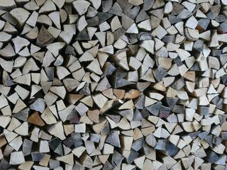 Brennholz - Holz, Brennholz, Ofen, Holzofen, Brennmaterial, brennbar, Stapel, Ster, geschlichtet, Haufen, Struktur
