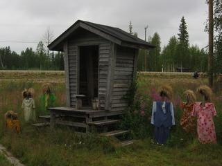 Das stille Volk - hiljainen kansa #3 - Kunst, Reijo Kela, Vogelscheuche