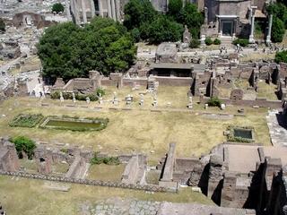 Rom - Forum Romanum - Italien, Rom, Antike, Ausgrabungen, Archäologie, altes Rom, Römer