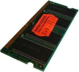 Notebookbestandteile #13 - Informatik, Notebook, Rechner, Laptop, Notebook-RAM, Arbeitsspeicher, RAM, Riegel