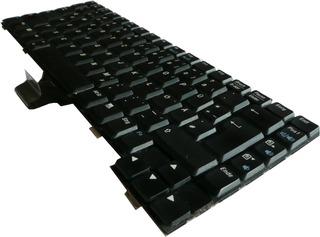 Notebookbestandteile #15 - Informatik, Notebook, Rechner, Laptop, tragbar, Tastatur, Notebooktastatur, tippen, Tasten