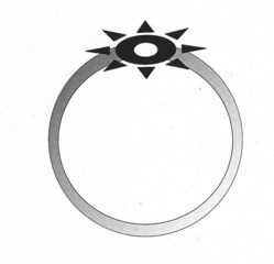Ring - Ring, Finger, Fingerring, Schmuck, Stein, Edelstein, Gold, Silber, Modeschmuck, Anlaut R, Illustration, Wörter mit ng