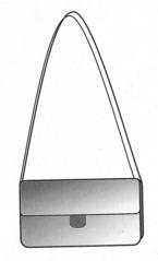 Handtasche - Handtasche, Tasche, Damenhandtasche, Gurt, öffnen, Anlaut T, Leder, Dame, elegant, Wörter mit sch