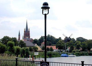 Inselstadt Werder (Havel) - Städte, Werder, Insel, Straßenlampe