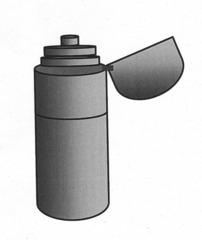 Trinkflasche #1 - Trinkflasche, Thermosflasche, Fahrradflasche, Durst, warm, heiß, kalt, Wasser, trinken, Kappe, Verschluss, Zylinder, Wärmeleitung, Physik, Wörter mit sch