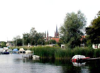 Inselstadt Werder (Havel) - Werder, Insel, Wasser, Ufer, Boot, Boote, Schilf