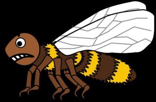 Biene #4 - Biene, Insekt, Flügel, Hautflügel