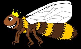 Bienenkönigin #1 - Biene, Insekt, Flügel, Hautflügel, Bienenkönigin