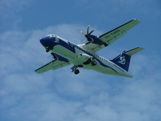 Eine Fokker - Fokker, Flugzeug, Himmel, fliegen