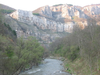 Balkan 1 - Gebirge, Bulgarien, Balkan, wandern, klettern, steil, Erosion, exogene Kräfte, Sedimentgesteine