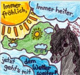 Wetter - Wetter, Österreich, Pferd
