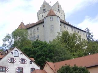 Burg Meersburg - Meersburg, Burg, Burg Meersburg, Alte Burg, Hauptattraktion, Wahrzeichen