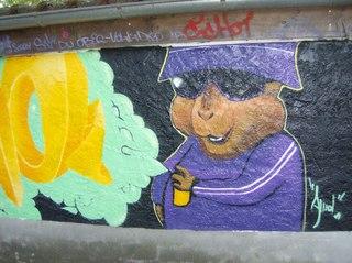 Graffiti #1 - Graffiti, Mauerbilder, Graffito, Bild, Kunstform, Wandmalerei