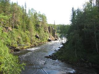 Oulanka Nationalpark  - Oulangan kansallispuisto, Finnland, Nationalpark, wandern, Freizeit, Landeskunde, Nordeuropa, Geografie, karhunkierros, Bärenpfad, Bärenrunde, Fluss